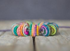Small Handmade Fabric Textile Beads for by jimenastreasures