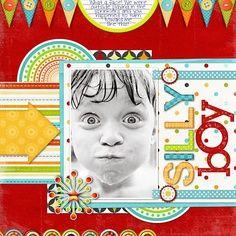 boy scrapbook layout ideas | Scrapbooking-BOY Layout Ideas