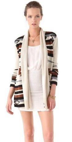 chic stripe sweater...