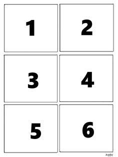 Pro Šíšu: Pexeso - pocitame Numbers Preschool, Learning Numbers, Printable Preschool Worksheets, Preschool Activities, Art For Kids, Archive, Teaching, Number Puzzles, Islam Quran
