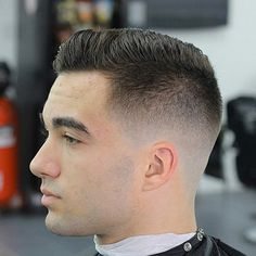 Short hair that can is work ready and #hipster cool. @alexthebarber305