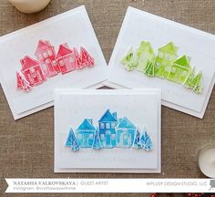 Stamp Away With Me: Quick and Easy Holiday Cards with Natasha Valkovskaya