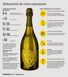 Wine 101 - Stages of sparkling wine production. Pinot Noir, Wine Infographic, Wine Facts, Wine Lovers, Wine Folly, Chateauneuf Du Pape, Wine Education, Wine Guide, Growing Grapes