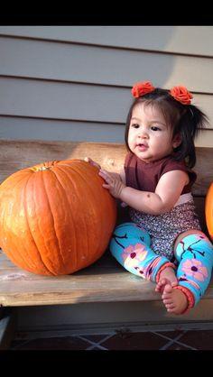 Sweet Baby Cute Pumpkin - Fall 2012