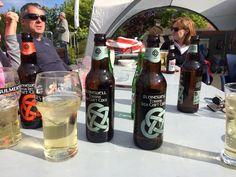 At Kinsale Yacht Club. Stonewell Irish craft cider