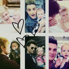 Baby Lux :) ahh look she is with jedward