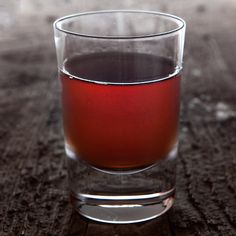 Bulleit Sazerac with Sambuca (anise flavor) instead of the traditional absinthe makes this an Italian twist on the New Orleans favorite.  .25 oz Stirrings Blood Orange Bitters 1 oz Bulleit Rye Whiskey 1 tsp Romana Sambuca