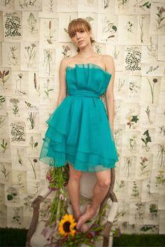 reception or bridesmaid dress