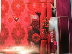 Think making every room red like this is a bit much?