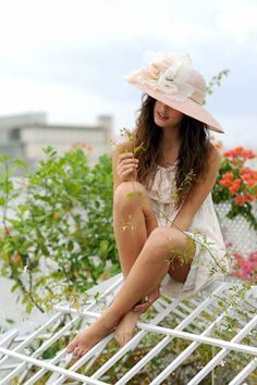 Tocados y sombreros de verano