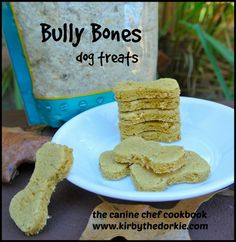 Bully Flakes taste great sprinkled on food and in #DIY dog treats!