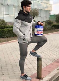 Eyecandy - Men In Spandex Gear Mens Running Tights, Mens Tights, Latest Mens Wear, Lycra Men, Compression Pants, Sports Leggings, Sport Tights, Sport Pants, Tight Leggings