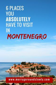 Read my guide to the best places in Montenegro and find out why you absolutely should visit Budva, Kotor, Skadar Lake, Ulcinj and the Black Lake.