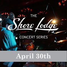 Save the Date: April 30th is your next concert. #IdahoMusic #ConcertSeries #StayAtShoreLodge