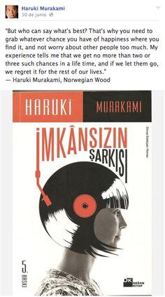 Haruki Murakami Quote!!