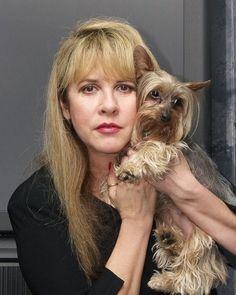 Stevie Nicks: Animal Lover (C-Dog & Company) Stevie Nicks Lindsey Buckingham, Buckingham Nicks, Stephanie Lynn, Grace Slick, Stevie Nicks Fleetwood Mac, Crazy Love, Female Singers, Her Music, Celebs