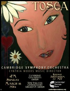 Cambridge Symphony Orchestra - Tosca - Sunday, March 16, 2014