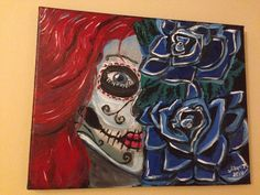 Day of dead painting