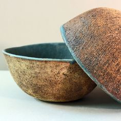 Cuencos azules. Silvia Valentín cerámica.