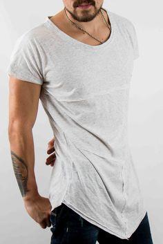 Camisetas - Camiseta Trashed Gray