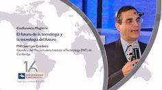 """Conferencia magistral: """"El futuro de la tecnología y la tecnología del f... Youtube, Future Tense, Art, Youtubers, Youtube Movies"""