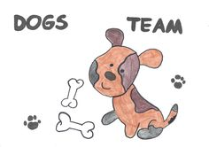 Karolina's logo has won a logo competition in the Dogs team.