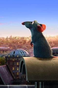 'Rataouille' (2007) American computer-animated comedy film produced by Pixar…