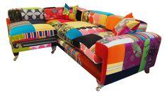 The Redchurch L Shape - Multicoloured  #sofa #furniture #multicoloured