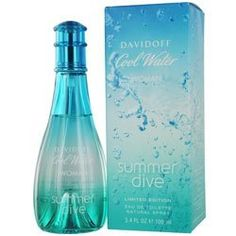 COOL WATER SUMMER DIVE by Davidoff for WOMEN: EDT SPRAY 3.4 OZ (LIMITED EDITION) by COOL WATER SUMMER DIVE. $38.96. Design House: Davidoff. COOL WATER SUMMER DIVE by Davidoff for WOMEN EDT SPRAY 3.4 OZ (LIMITED EDITION) Launched by the design house of Davidoff in 2011. Save 35%!