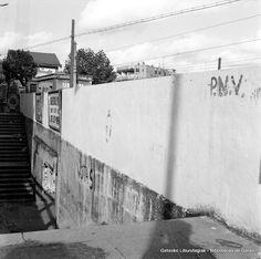 Villamonterako lurpeko pasabidea Algortako geltokian / Paso Subterráneo hacia Villamonte en la antigua estación de Algorta (Colección Eugenio Gandiaga) (ref. 06214)