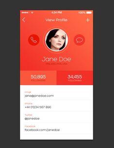 How to Design an iOS 7 inspired iPhone App Screen - Athena Petropoulos - Dekoration Ios App Design, Best Ui Design, Android App Design, Iphone App Design, Mobile App Design, User Interface Design, Mobile Ui, Design Design, Pattern Design