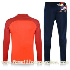 Boutique De Survetement De Foot Enfant FC Barcelone Orange Violet Seson 16 17 18 Personnalise