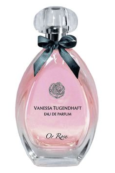 Or Rose Vanessa Tugendhaft perfume - a fragrance for women 2012 Parfum Rose, Fragrance Parfum, Pink Perfume, Perfume And Cologne, Perfume Body Spray, Antique Perfume Bottles, Perfume Collection, Smell Good, At Least