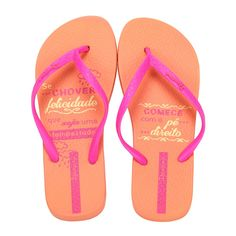 Chinelo Feminino Ipanema. Compre Online: http://www.lojaspompeia.com/chinelo-dedo-feminino-adulto-feminino-ipanema-laranja-rosa/p