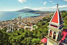 A View of Zante Town Zante Greece Greece Islands, Paris Skyline, Greek, Travel, Viajes, Destinations, Traveling, Trips, Greece