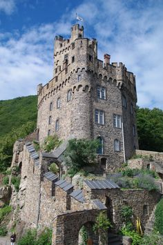 Castle Sooneck, germany. Another view of that castle : * This photo has been invited to the club lovely architecture and is now in their gallery, thank you !* Featured in the article Dramatic insig...
