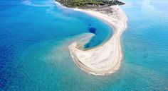 Explore with us the most beatiful Halkidiki beaches. The Halkidiki peninsula in the north of Greece consists of three finger-shaped peninsulas - Macedonia Greece, Athens Greece, Thessaloniki, Mykonos, Greek Blue, Need A Vacation, Sandy Beaches, Beautiful Islands, Beautiful Beaches