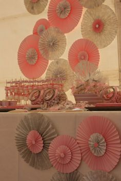 Ideas Para Fiestas, Floral Arrangements, Sweets, Baby Shower, Paper, Mayo, Fabric, Dessert Tables, Ballerina