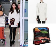 Phillip Lim, McQ Alexander McQueen, Coach, and Oversized Sweater Outfit, Sweater Outfits, Airport Fashion, Airport Style, Mcq Alexander Mcqueen, Sooyoung, Red Carpet Fashion, 3.1 Phillip Lim, Snsd