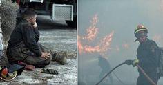 Ηρωες-πυροσβέστες στη μάχη με τις φλόγες -Απόγνωση, κούραση, τραυματισμοί [εικόνες] Hats, Hat, Hipster Hat