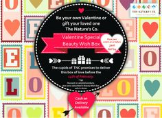The Nature's Co. Valentine Special Beauty Wish Box: PR Note♥