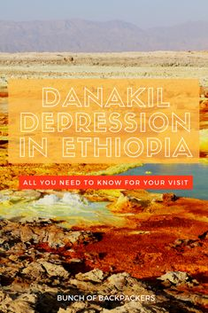 How to prepare for your Danakil Depression tour in Ethiopia? - Bunch of Backpackers Ethiopia Travel, Africa Travel, Morocco Travel, Travel Guides, Travel Tips, Travel Destinations, Travel Advice, Wildlife Safari, Cultural Experience