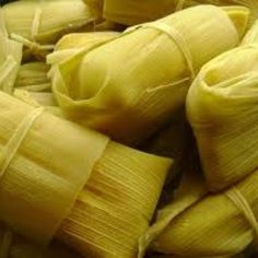 Pamonha (Portuguese pronunciation: [paˈmõȷ̃ɐ]) is a traditional Brazilian food.  Similar to Humitas, Hallacas or Tamales. It is a paste made from fresh corn and milk, boiled wrapped in corn husks, turned into a dumpling. Pamonhas can be filled with cheese, sausage, minced meat, minced chicken, pepper, or served plain. Roadside restaurants specializing in pamonha and other corn dishes are common in Northeast Region Brazil.