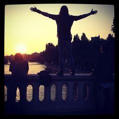 #ShareIG Sunset over Paris #marsinfrance
