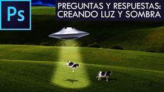 Photoshop CC - Preguntas y respuestas #2 - Creando luz y sombra | Español