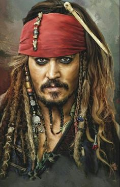 Jack Sparrow Drawing, Jack Sparrow Tattoos, Johnny Depp Characters, Johnny Depp Movies, Pirate Art, Pirate Life, Captain Jack Sparrow, Jack Sparrow Wallpaper, Bateau Pirate