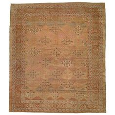 Antique Camel Bakshaish Rug | From a unique collection of antique and modern persian rugs at https://www.1stdibs.com/furniture/rugs-carpets/persian-rugs/