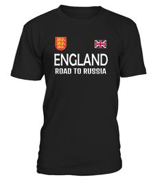 England T-Shirt England road to Russia is an attractive design to encourage with passion to your English Soccer team which qualified to the Biggest Soccer Competition in 2018. This shirt is also a perfect gift for your family and friends. Fitted t-shirt, consider ordering a size up for a looser fit. England Russia Soccer T-shirt Flag Gift futbol football South Korea Niger...