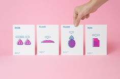 Recreo Postales (limited edition) on Behance