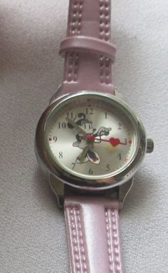 Ladies Disney Minnie Mouse Nurse Wrist Watch, New Band and Battery  #Disney #WatchesTimepieces